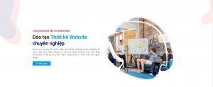 đào tạo thiết kế website