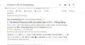 """Các bạn Search """" tải flatsome miễn phí thangdangblog"""""""
