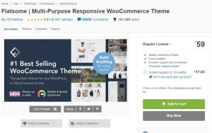 Theme WordPress Flatsome là theme bán hàng được tải nhiều nhất trên Themeforest