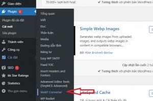 click vào webp Converter