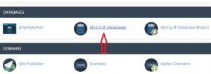 đưa database lên host